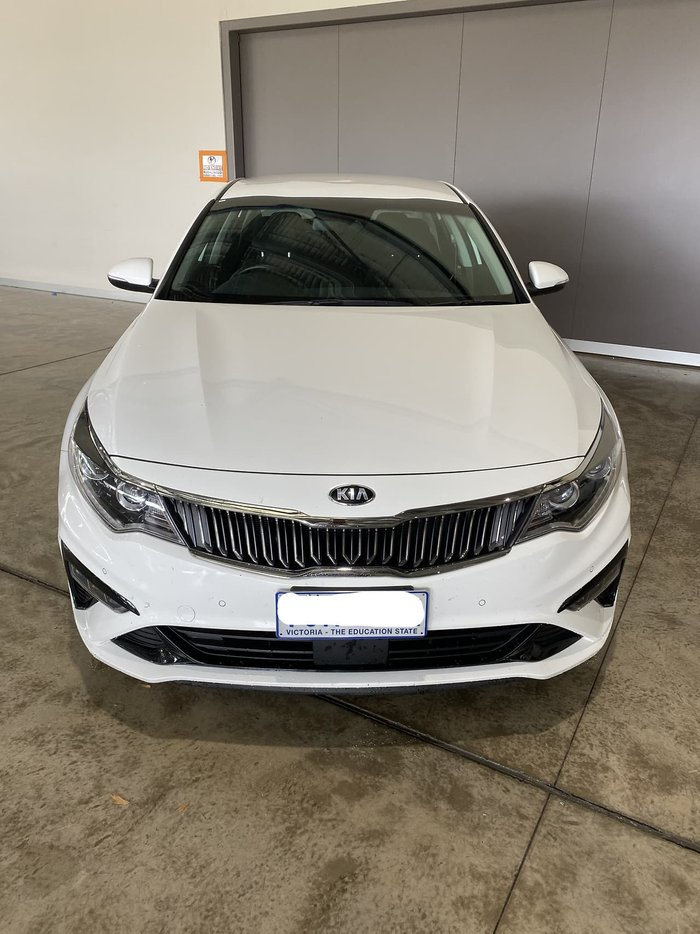 2018 Kia Optima Si JF MY19 White
