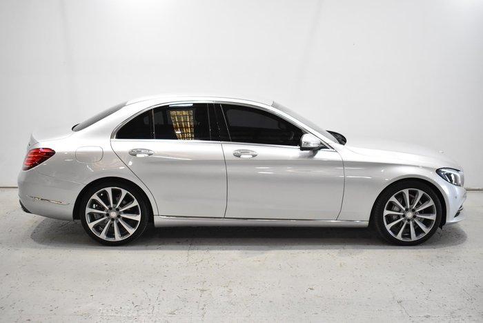 2014 Mercedes-Benz C-Class C250 BlueTEC W205 Silver