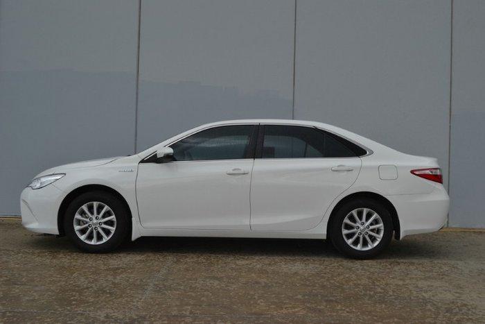 2017 Toyota Camry Altise AVV50R GLACIER WHITE