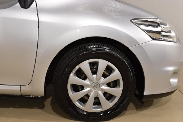 2010 Toyota Corolla Ascent ZRE152R MY10 Sterling Silver