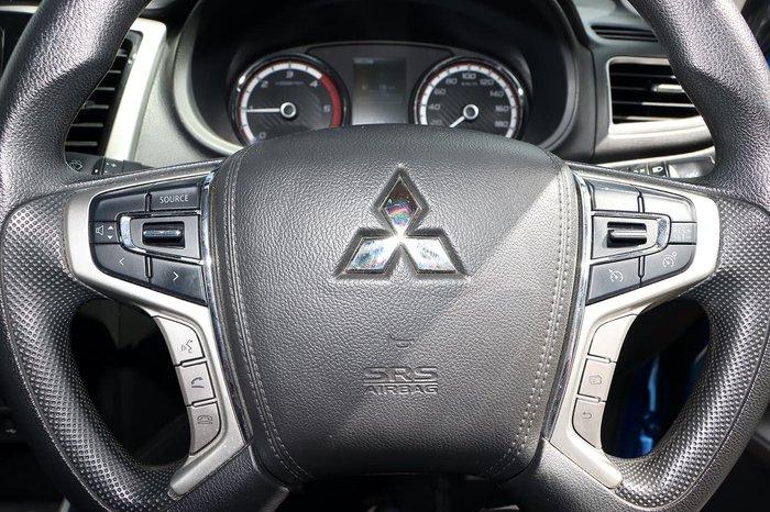 2019 Mitsubishi Triton GLX+ MR MY19 4X4 Dual Range Blue
