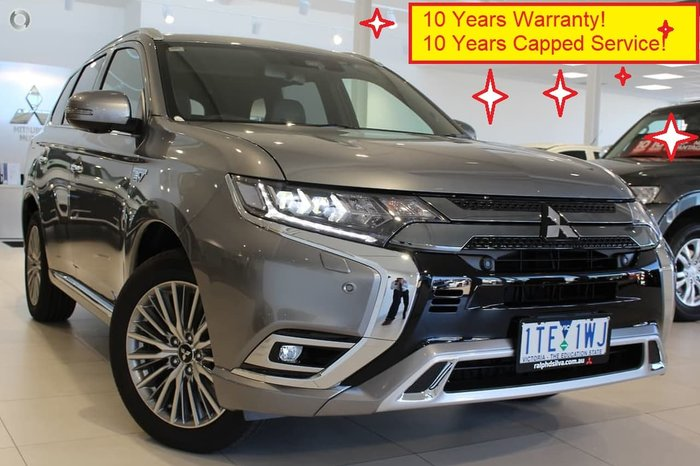 2020 Mitsubishi Outlander PHEV Exceed ZL MY20 Four Wheel Drive Grey