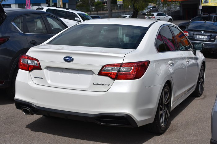 2019 Subaru Liberty 2.5i 6GEN MY19 AWD Crystal White