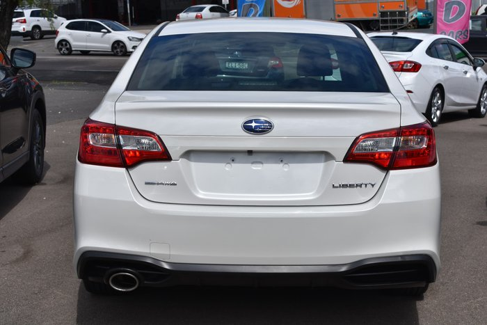 2019 Subaru Liberty 2.5i 6GEN MY19 Four Wheel Drive Crystal White