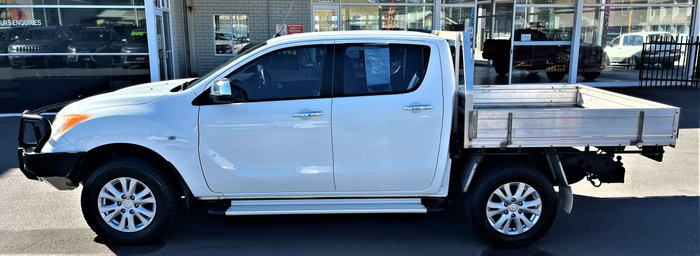 2013 Mazda BT-50 GT UP 4X4 Dual Range Cool White