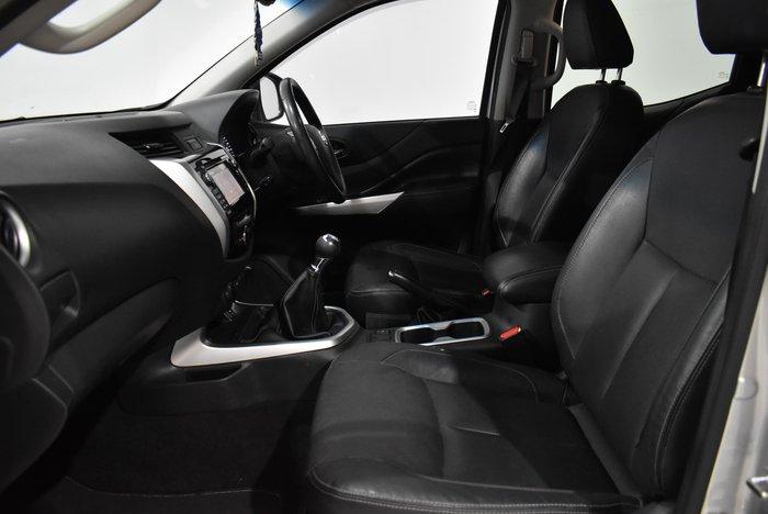 2015 Nissan Navara ST-X D23 4X4 Dual Range Brilliant Silver