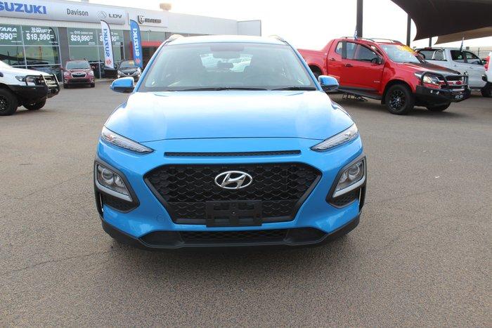 2019 Hyundai Kona Active OS.2 MY19 Blue Lagoon