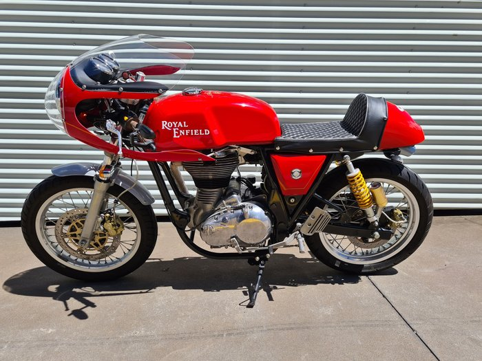 2014 Royal Enfield Continental GT 535 Continental Red