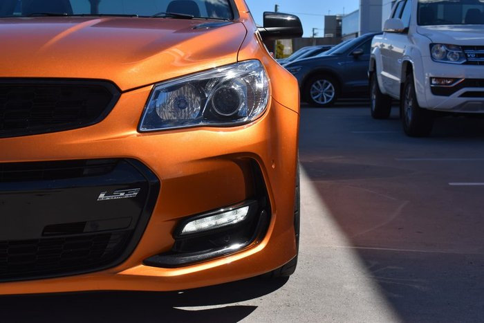 2017 Holden Commodore SS V Redline VF Series II MY17 Orange