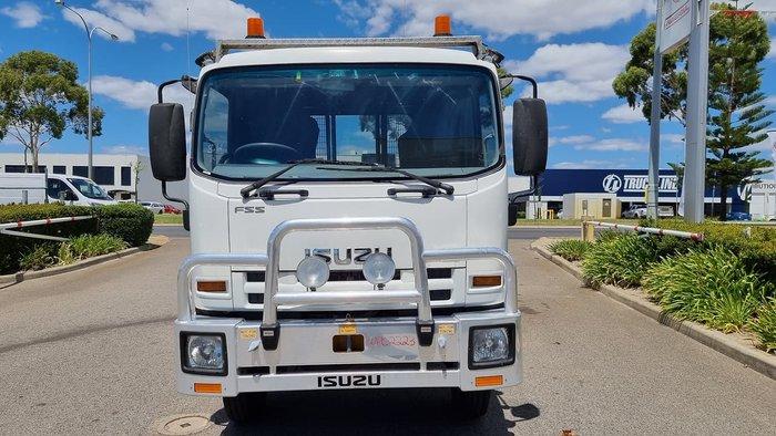 2014 ISUZU FSS550 WHITE