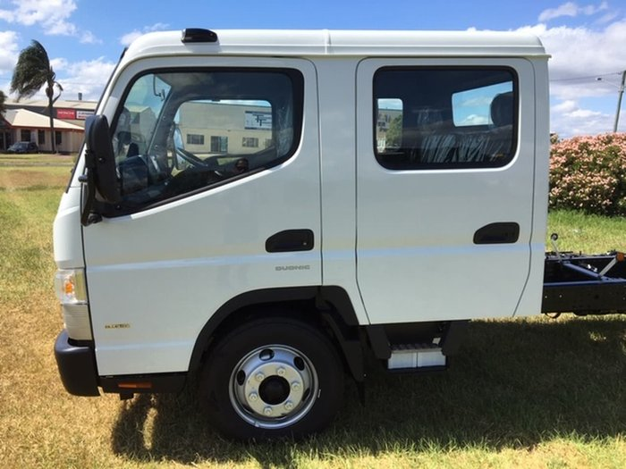 2021 FUSO CANTER 918 CREW CAB DCT White