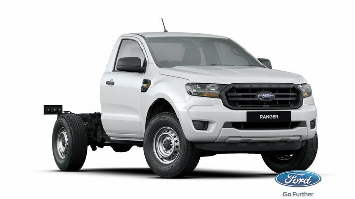 2020 Ford Ranger XL PX MkIII MY21.25 Arctic White