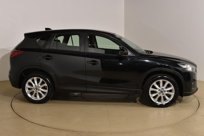 2013 Mazda CX-5 Grand Touring KE Series Four Wheel Drive Black