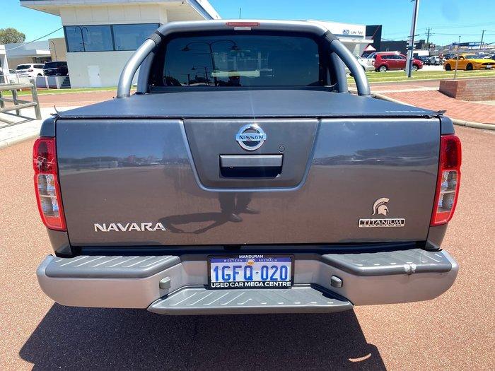 2014 Nissan Navara Titanium D40 Series 7 4X4 Dual Range Grey