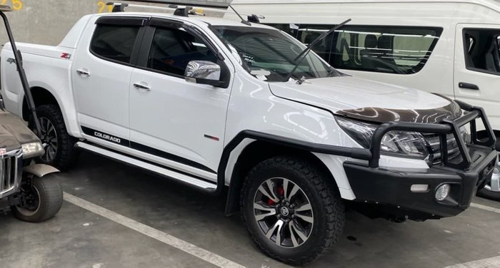 2017 Holden Colorado LTZ RG MY17 4X4 Dual Range Summit White
