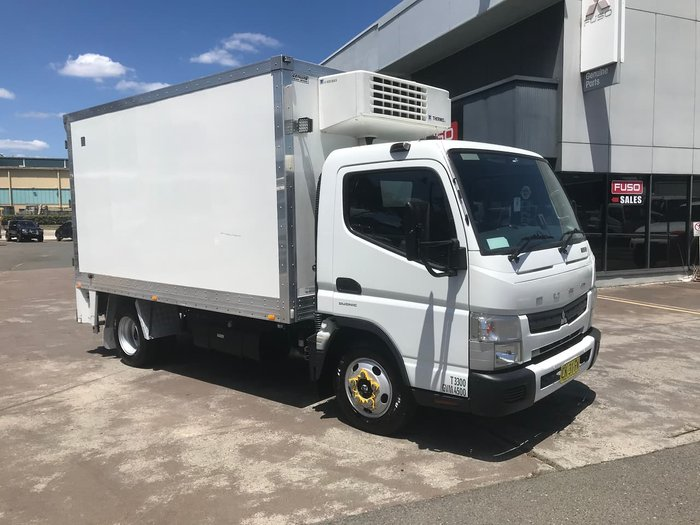 2016 FUSO CANTER 515 White