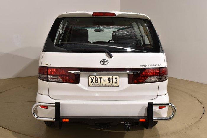 2004 Toyota Tarago GLi ACR30R MY03 Powder White