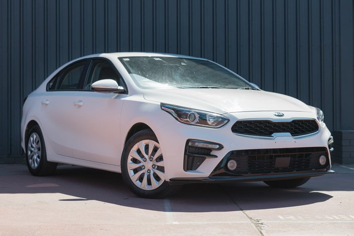 2019 Kia Cerato S BD MY19 Clear White