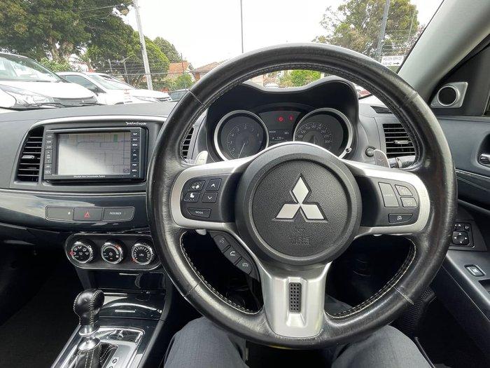 2012 Mitsubishi Lancer Evolution MR CJ MY12 Four Wheel Drive Grey