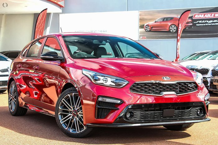 2020 Kia Cerato GT BD MY21 Red