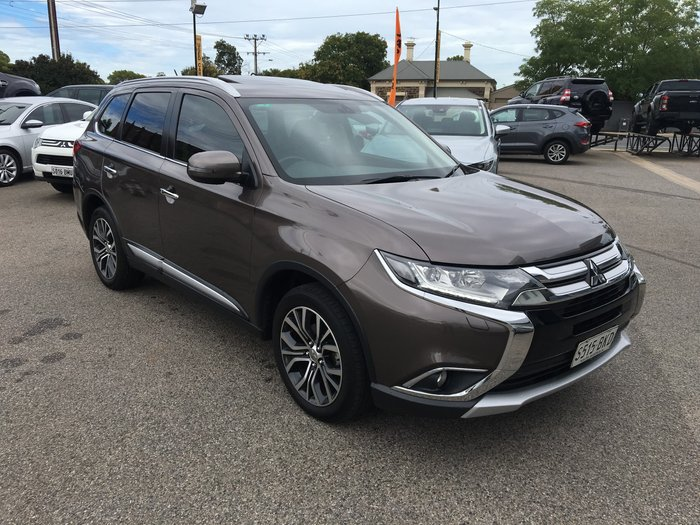 2016 Mitsubishi Outlander Exceed ZK MY16 4X4 On Demand Ironbark