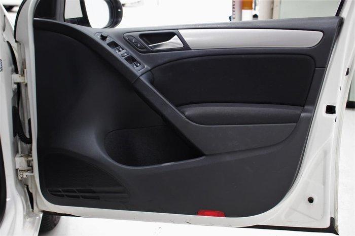 2010 Volkswagen Golf 77TDI Trendline VI MY10 White