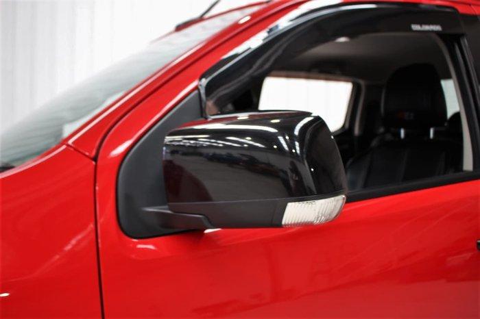 2016 Holden Colorado Z71 RG MY17 4X4 Dual Range Red