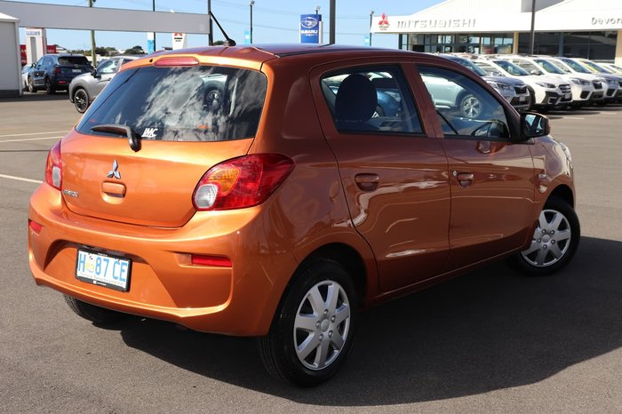 2016 Mitsubishi Mirage ES LA MY17 Orange
