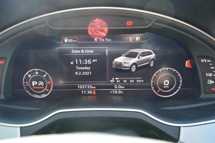 2015 Audi Q7 TDI 4M MY16 Four Wheel Drive Ink Blue
