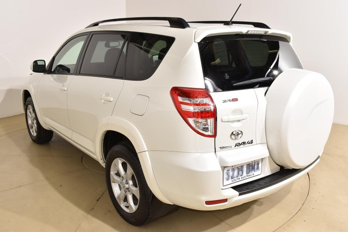 2011 Toyota RAV4 ZR6 GSA33R MY11 4X4 On Demand White