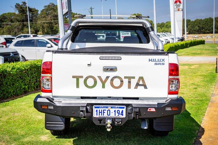 2014 Toyota Hilux SR5 KUN26R MY14 4X4 Dual Range White