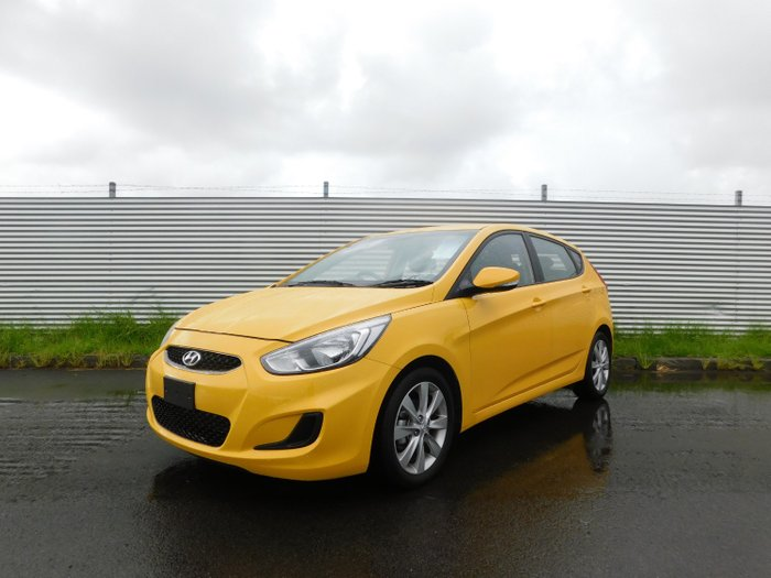 2019 Hyundai Accent SPORT RB6 MY19 Yellow