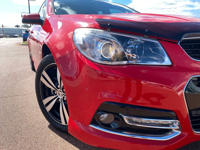2015 Holden Commodore SV6 Storm VF MY15 Red