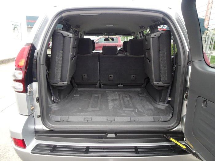 2003 Toyota Landcruiser Prado GXL KZJ120R 4X4 Constant Silver Ash