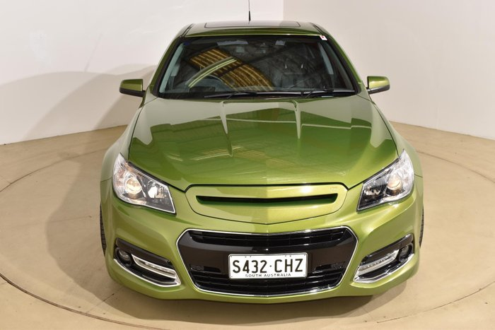 2015 Holden Commodore SS V Redline VF MY15 Jungle Green