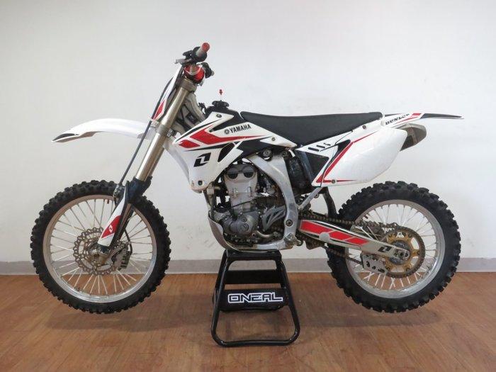 2007 Yamaha YZ450F WHITE