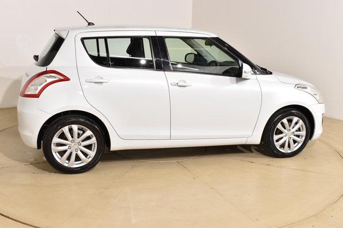 2015 Suzuki Swift GLX Navigator FZ MY15 Snow White