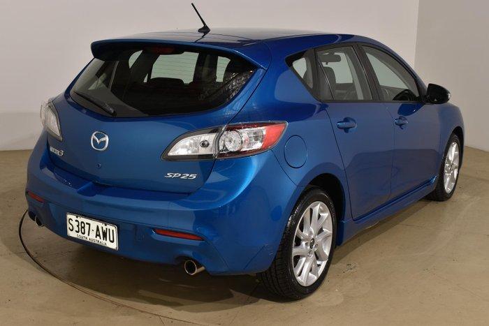 2013 Mazda 3 SP25 BL Series 2 MY13 Blue