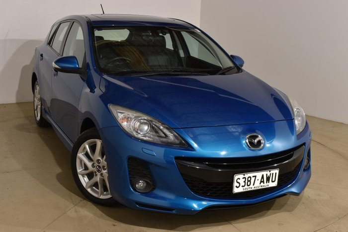 2013 Mazda 3 SP25 BL Series 2 MY13 Blue