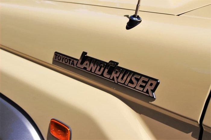2020 Toyota Landcruiser GXL VDJ79R 4X4 Dual Range Gold