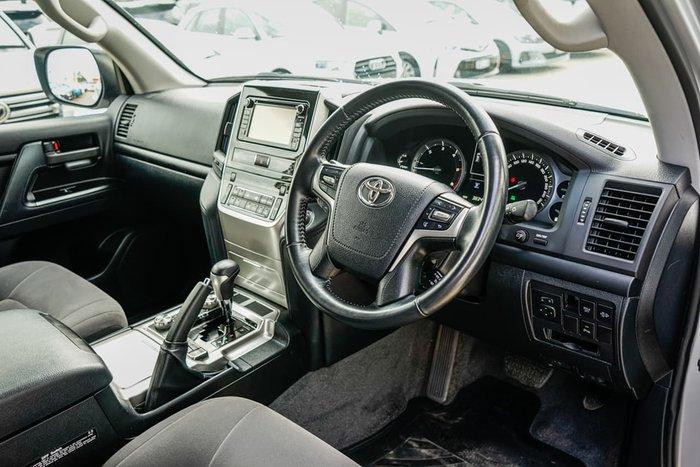 2019 Toyota Landcruiser GXL VDJ200R 4X4 Dual Range Silver