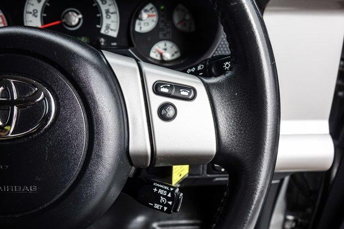 2012 Toyota FJ Cruiser GSJ15R 4X4 Dual Range Silver