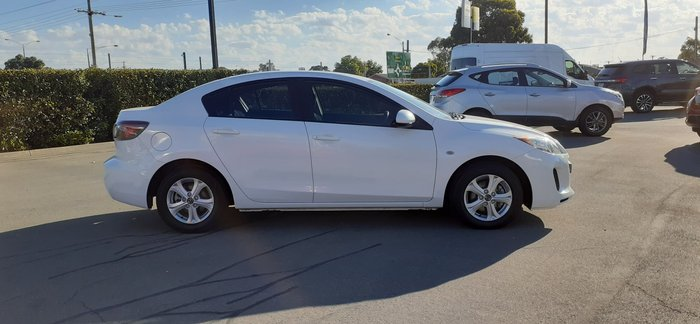 2013 Mazda 3 Neo BL Series 2 MY13 Crystal White Pearl