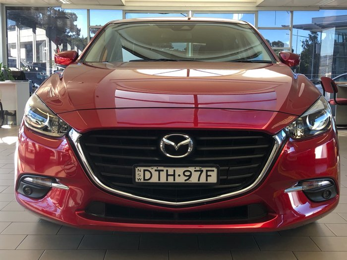 2017 Mazda 3 Touring BN Series Soul Red