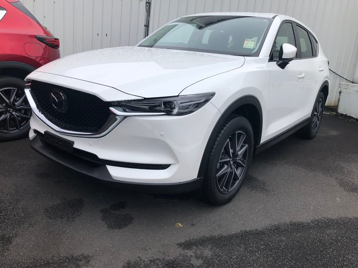 2020 Mazda CX-5 GT KF Series AWD Snowflake White Pearl