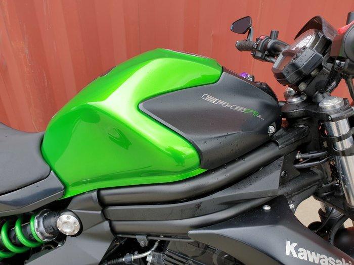 2014 Kawasaki ER-6nL Green