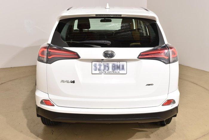 2016 Toyota RAV4 GX ASA44R 4X4 On Demand Glacier White