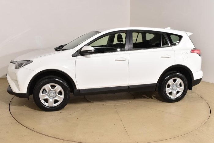 2016 Toyota RAV4 GX ASA44R 4X4 On Demand Glacier White