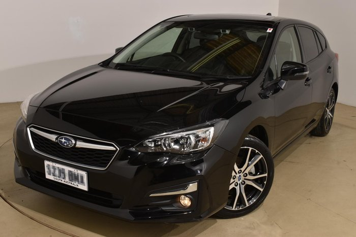 2017 Subaru Impreza 2.0i Premium G5 MY17 Four Wheel Drive Crystal Black