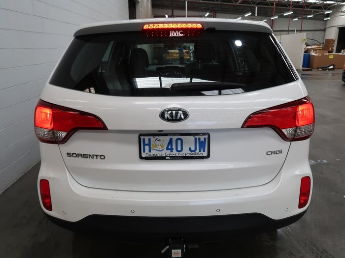 2014 Kia Sorento Si XM MY14 4X4 On Demand White
